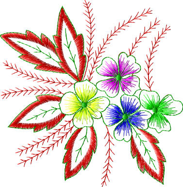 Free Embroidery Designs For Download Flowers Ornaments Baby